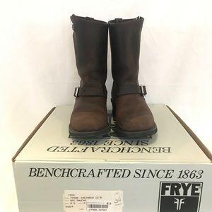 "FRYE 12""R engineer boots"